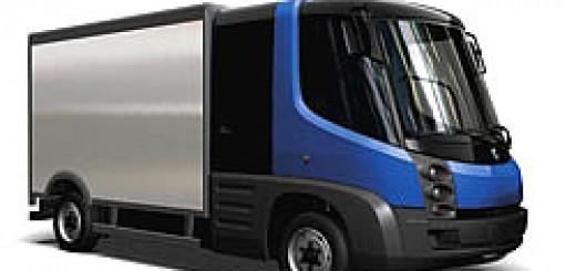 Elektrotransporter Modec van hybrid auto