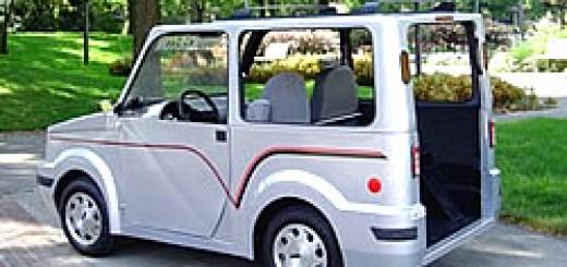 Elektromobil EcoV