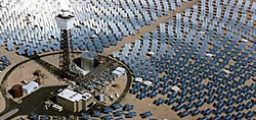 solar one turmkraftwerk Energie der Sonne